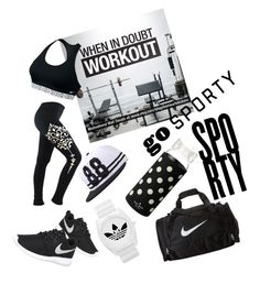 """""""Untitled #36"""" by akshaya-mahaveer on Polyvore featuring NIKE, Kate Spade and adidas"""