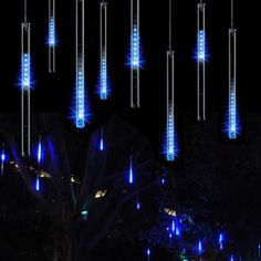 New 30CM Meteor Shower Rain Tubes LED Light For festival Wedding Garden Decoration