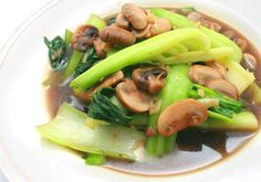 Baby Bok Choi & Shitake Mushrooms (Come dine with me Canada)