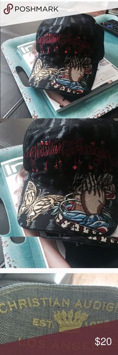 Ed Hardy Hat Ed Hardy Hat by Christian Audiger. Ed Hardy Accessories Hats