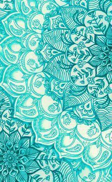 Teal turquoise mandala pattern wallpaper // wallpapers from celular - Buscar con… Phone Backgrounds, Wallpaper Backgrounds, Iphone Wallpaper, Tumblr Wallpaper, Cool Wallpaper, Pattern Wallpaper, Glittery Wallpaper, Elephant Phone Wallpaper, Inspiration Wand