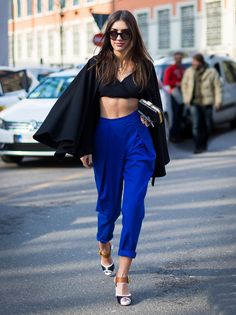 patricia-manfield-street-style-blue-wide-pants-cropped-cape