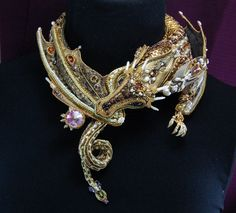Золотой дракон — Бисерный Дайджест http://www.beadingdigest.ru/1113-zolotoi-drakon.html