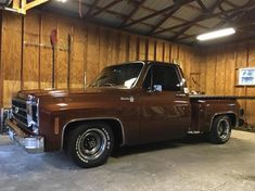 Been a while since I posted - Brown - The 1947 - Present Chevrolet & GMC Truck Message Board Network Chevy Stepside, Chevy Pickup Trucks, Classic Chevy Trucks, Gm Trucks, Chevy Pickups, Jeep Truck, Chevrolet Trucks, Chevy Classic, Muscle Truck