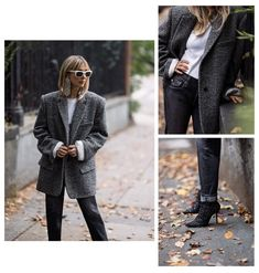 Check out Fashion Director Kerry Pieri styled in statement looks for the holidays. Mens Fashion Blazer, Denim Fashion, Dressy Jackets, Holiday Wardrobe, Fresh Outfits, Ag Jeans, Denim Trends, Denim Style, Best Jeans