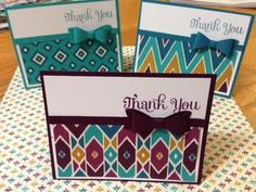 Bohemian DSP from Stampin Up!
