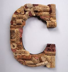The Initial Touch - Wine Cork Letters