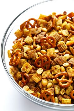 Extra-Bold Chex Mix | Gimme Some Oven This is just the way our family likes it