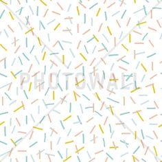 Sprinkles Yellow - Fototapeter & Tapeter - Photowall
