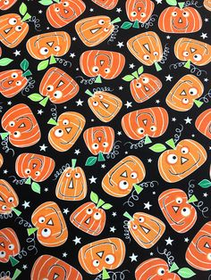 Your place to buy and sell all things handmade Halloween Fabric, Halloween Fun, Craft Fair Table, Cut Out Letters, Large Pumpkin, Happy Pumpkin, How To Make Banners, Fabric Pumpkins, Order Up