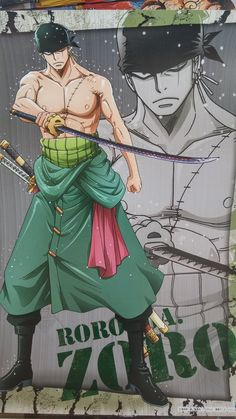 Roronoa Zoro | One Piece - Visit now for 3D Dragon Ball Z compression shirts now on sale! #dragonball #dbz #dragonballsuper