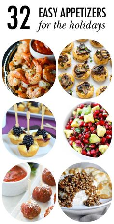 Cheesy dips, tasty shrimp, bacon-wrapped snacks, and more make these 32 Easy Appetizer Recipes perfect for holiday entertaining! Share them at your next get-together and wait for the wows.
