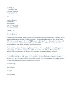 Polite resignation letter bestdealformoneywriting a letter of sample heartfelt resignation letter how to make a sample heartfelt resignation letter download this expocarfo Gallery