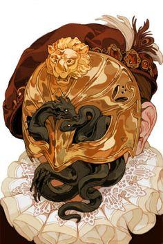 Dragon age knight errant #4, art by Sachin Teng
