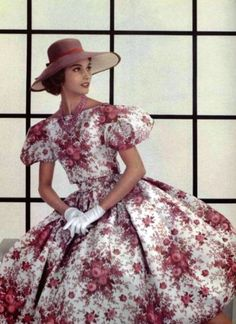 Christian Dior, 1956 with <3 from JDzigner www.jdzigner.com