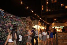Chalkboard fun at UrbanSpace Meatpacking #USMEATPACKING