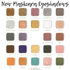 Maskcara has awesome Foundation. But this is Why You Need Maskcara Eyeshadows too! Maskcara Makeup, Maskcara Beauty, Makeup Tips, Beauty Makeup, Eyeshadow For Blue Eyes, Shimmer Eyeshadow, Eyeshadows, Eyeshadow Primer, Custom Eyeshadow Palette