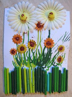 melted crayon craft