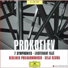 Berliner Philharmoniker and Seiji Ozawa - Prokofiev: 7 Symphonies; Lieutenant Kijé (4 CD's)