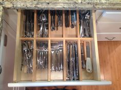 Love my self-made utensil drawer