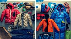 Arcopodojournal: 13 foto perbandingan climbing gears gunung Everest...