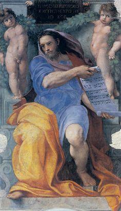 Raphael Sanzio -The Prophet Isaiah