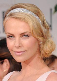 Charlize Theron Golden Globe Awards 2012 Beauty Breakdown