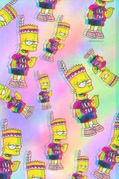 Tumblr Wallpaper, Screen Wallpaper, Cartoon Wallpaper, Wallpaper Backgrounds, Iphone Wallpaper, Dope Wallpapers, Aesthetic Wallpapers, Image Simpson, Simpsons Art