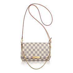 Favorite PM +Damier Azur Canvas - Handbags | LOUIS VUITTON