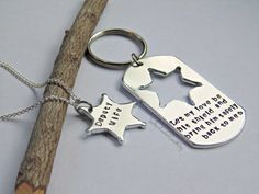 Police Officer Couple  His and Hers Key by SouthernComfortZone, $18.99 Police Officer Couple - His and Hers Key Chain Necklace -Personalized - Deputy Sheriff LEO Wife Girlfriend Husband Boyfriend - Gift For Him