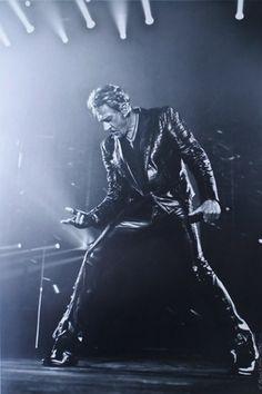 Le Rock'N'Roll à l'état pur, photo Johnny Hallyday de Renaud Corlouër
