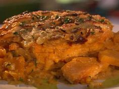 Get Smoky Yam Gratin Recipe from Food Network