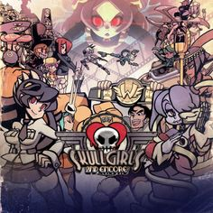 Znalezione obrazy dla zapytania skullgirls cover