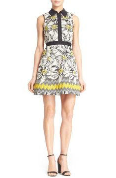 4c6207729760 Alice + Olivia  Ellis  Daisy Jacquard Fit  amp  Flare Dress available at