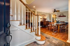 Staircase - 7725 Nesbit Ferry Road, Sandy Springs, GA - Charming Renovated/Updated Cape Cod w/ Tons of Character on a Gorgeous Private Lot! Bright Open Spacious Floor Plan Ideal for Entertaining * KAREN CANNON REALTORS, INC. Specializing in #Dunwoody & #SandySprings - Contact us today at 770-352-9658 or email: info@KarenCannon.com or Visit: KarenCannon.com