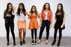 You just dropped your burrito: | All The Fifth Harmony Reaction GIFS You'll Ever Need