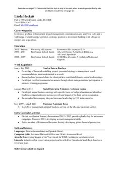 find answers here for one page resume examples - One Page Resume Examples