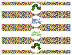 DIY Design Den: Free Very Hungry Caterpillar Party Printables Very Hungry Caterpillar Printables, Hungry Caterpillar Games, Boy First Birthday, First Birthday Parties, Birthday Ideas, Birthday Cakes, Classroom Birthday, Classroom Decor, Printable Water Bottle Labels