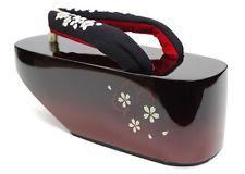 JAPANESE Kimono Zori Geta Sandals  L 24cm NEW NO4