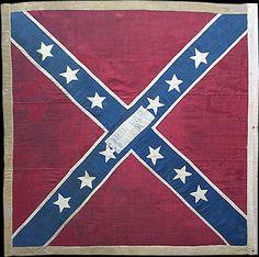 3rd Arkansas Battle Flag, St Andrews Cross