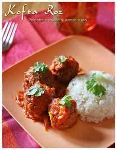 Kofta roz - Egyptian beef and rice meatballs