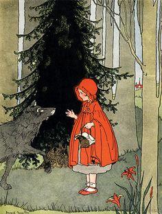 Story Book Sundays - Little Red Riding Hood - Margaret Evans Price C.hedgehogstudios