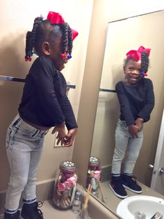 Cute Black Babies, Black Kids, Cute Babies, Cute Toddler Hairstyles, Little Girl Hairstyles, Beautiful Children, Beautiful Babies, Toddler Fashion, Kids Fashion