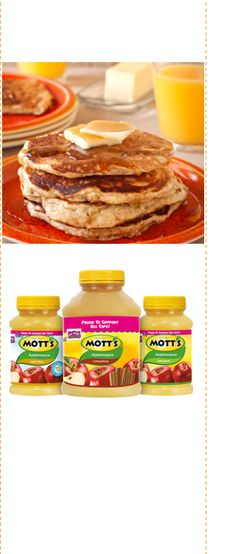 Motts Natural Applesauce Recipes On Pinterest