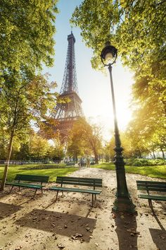 Late afternoon in gardens around the Eiffel Tower in Paris, France. You can follow me on facebook and on my website www.beboyphoto.com