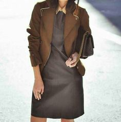 Love the dress paired with this jacket