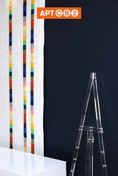 Modern rainbow quilt concept