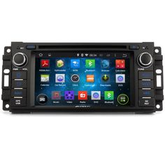 "Pumpkin 7"" Touchscreen Quad Core 1.6GHz Android 5.1 Car DVD Radio GPS For Jeep Wrangler Dodge Journey Audio Radio Mirror Link"