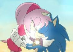 A Classic, Modern, and Boom Sonic are in the one Dimension. I hope you enjoyed this edit Thanks Sonic the Hedg. Sonic Boom Edit : The Reunion of Generations 1 Sonic And Amy, Sonic Boom, Guys Thoughts, Eggman, The Reunion, Sonic Fan Art, Amy Rose, Comic Page, Big Hugs