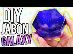 HAZ JABONES DE GALAXIA ♥ DIY - YouTube